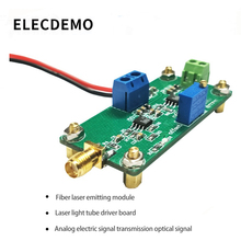 Fiber laser emitting module Photodiode driving circuit board Electric signal transmission optical conversion