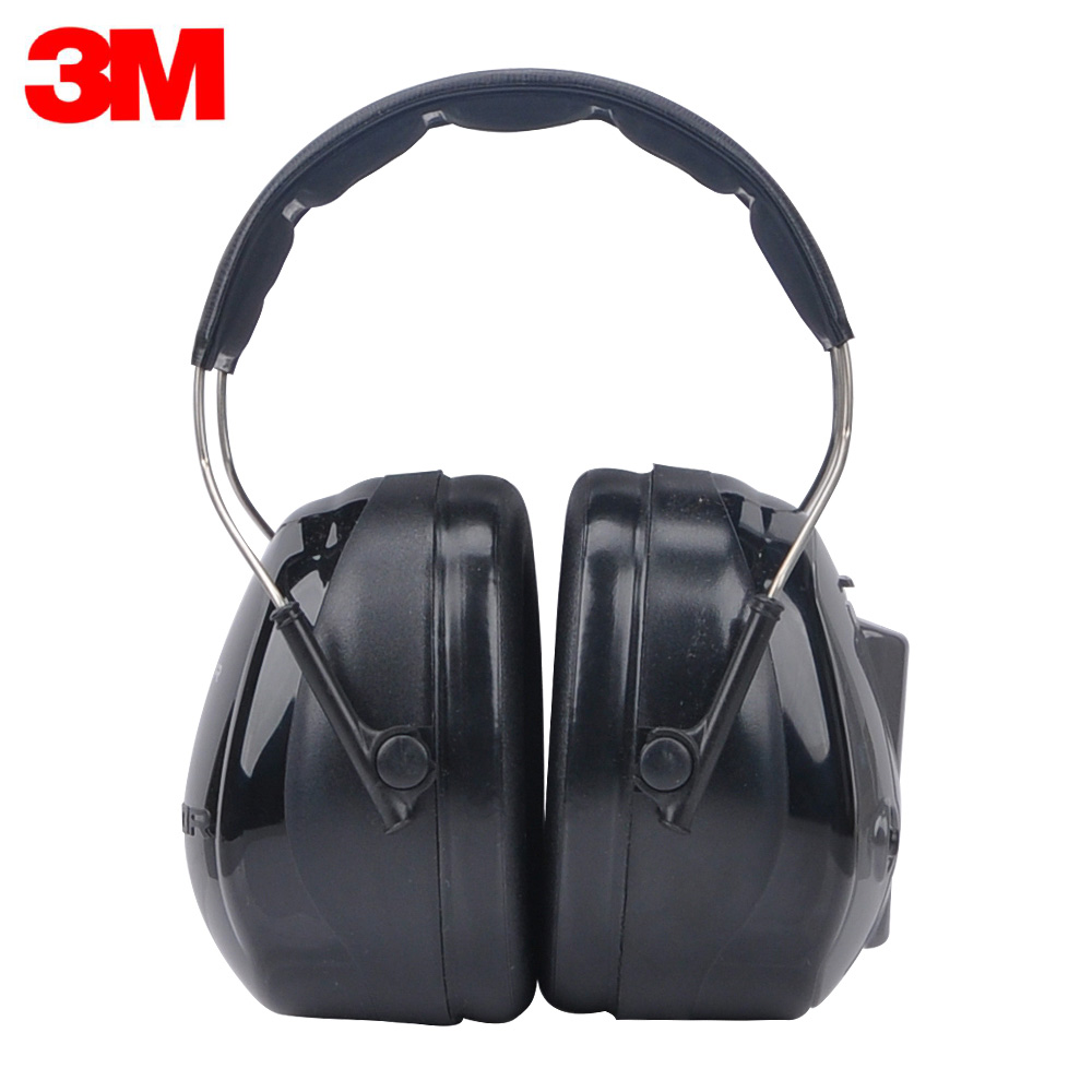 3M H7A-PTL Earmuffs Optime Earmuffs Super Soundproof Earmuffs Protector One Click to Listen for Drivers/Workers KU011