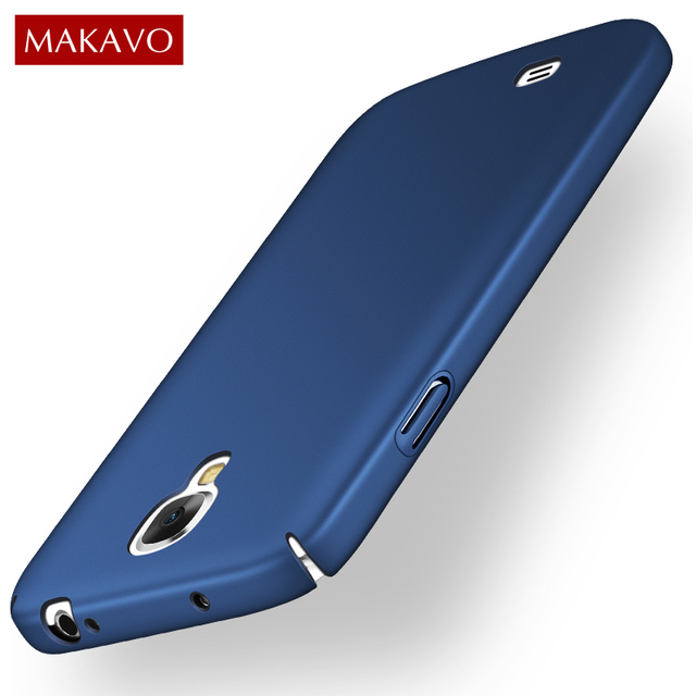 sports shoes 8fcb3 ef375 US $2.92 35% OFF|MAKAVO For Samsung Galaxy S4 Case 360 Protection Slim  Matte Hard Plastic Back Cover Coque Funda For Samsung S4 Phone Cases-in  Fitted ...