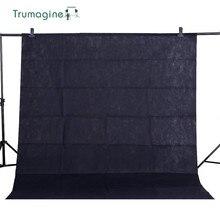 1.6X2 M/5.2X6.5ft noir écran Photo arrière plan photographie arrière plan Chroma clé arrière plan pour Studio Photo Non tissé tissus