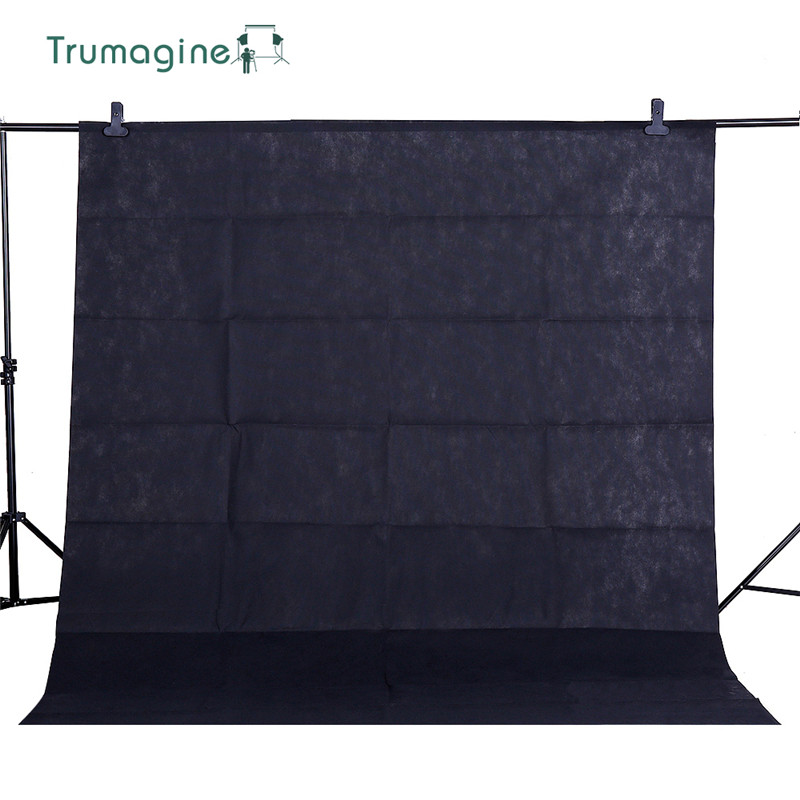 1.6X2M/5.2X6.5ft Black Screen Photo Background Photography Backdrops Chroma key Background For Photo Studio Non-woven Fabrics supon 6 color options screen chroma key 3 x 5m background backdrop cloth for studio photo lighting non woven fabrics backdrop