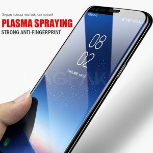 Image 3 - NAGFAK 5D Curved Edge Full Cover Screen Protector For Samsung Galaxy S9 S8 Plus Note 8 Tempered Glass On The S9 S8 Glass Film