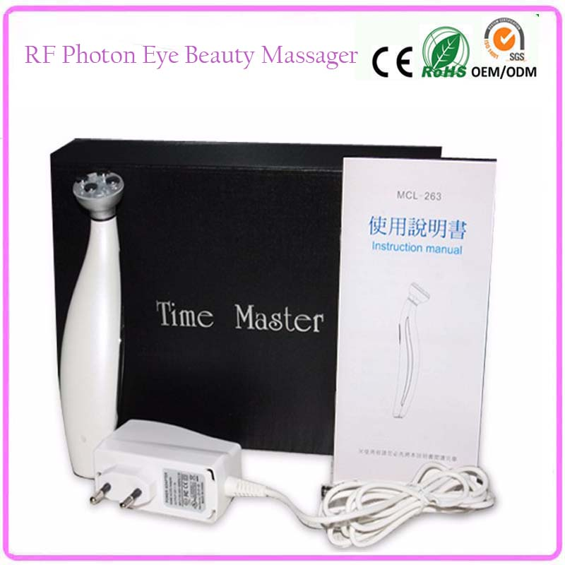 Mini RF Radio Frequency Led Photon Light Therapy Bio Microcurrent Skin Tightening Eye Lifting Wrinkle Removal Beauty Instruments mini portable usb rechargeable ems rf radio frequency skin stimulation lifting tightening led photon rejuvenation beauty device