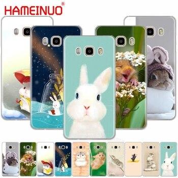 Hameinuo فأر الهامستر الأرنب غطاء حالة الهاتف لسامسونج غالاكسي j1 j2 j3 j5 j7 البسيطة ace 2016 2015 رئيس