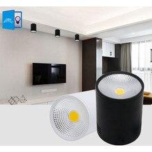 LED Downlights 3W 5W 7W 10W 15W Surface Mounted Ceiling Lamps Spot Light AC85-265V Surface Mounted Down LightWhite/Warm white