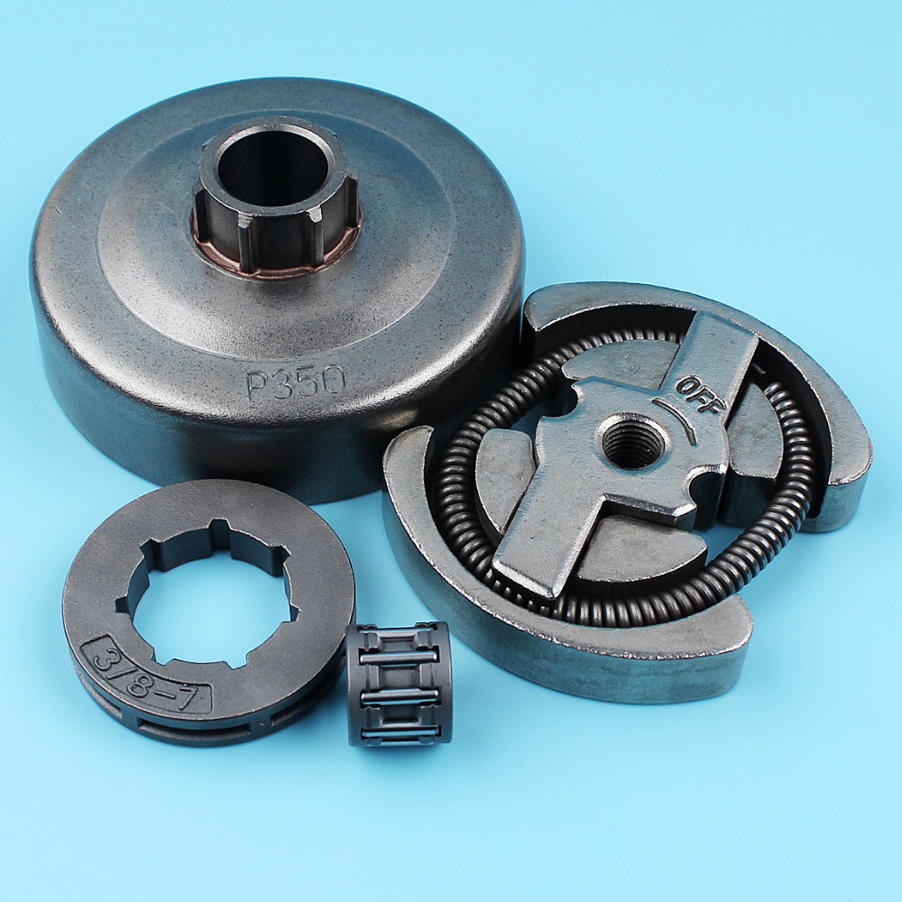 3 8inch-7T Clutch Drum Sprocket Rim Bearing Kit For Husqvarna 235 235E 236 240 240E Jonsered 2035 2036 2040 Chainsaw Spare Part