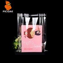 0,07 мм opp целлофановые самоклеющиеся прозрачные пластиковые пакеты для упаковки одежды Подарочный комплект одежды для хранения нижнего белья