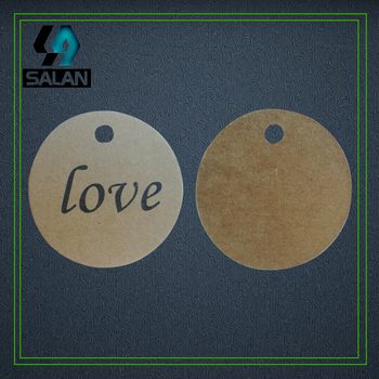 Wholesale stock love cards hang tags bookmarks for clothing paper printed gift tags custom hang tags hand work label image
