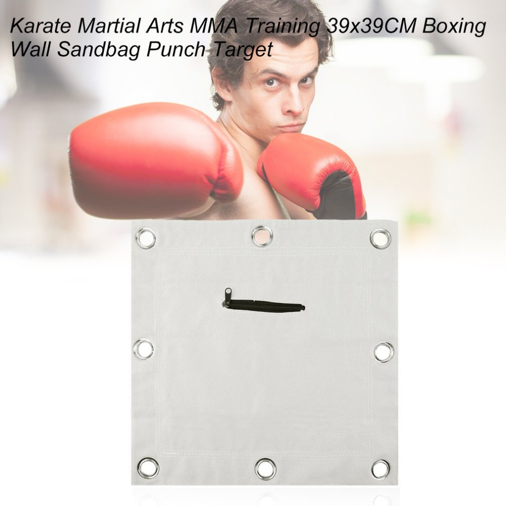 Bruce lee Boxing Wall Punch Bag Sanshou fighting pad sandbag Punch wall target Muaythai Hot! arrival
