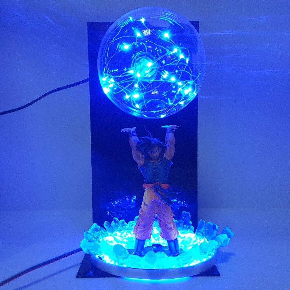 Dragon Ball Z Action Figures Goku Spirit Bomb Super Saiyan Led Color Changing Toy Anime Dragon Ball Super Goku Figurine DBZDragon Ball Z Action Figures Goku Spirit Bomb Super Saiyan Led Color Changing Toy Anime Dragon Ball Super Goku Figurine DBZ