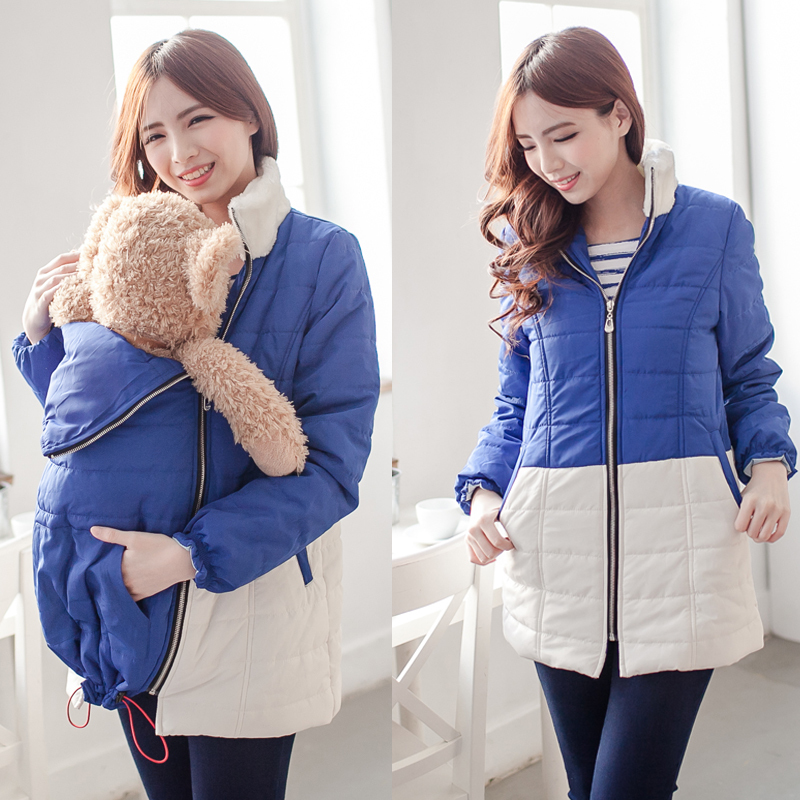 ba69939b7 Maternity Clothes Comfortable Maternity Coat Thicken Warming Cotton ...