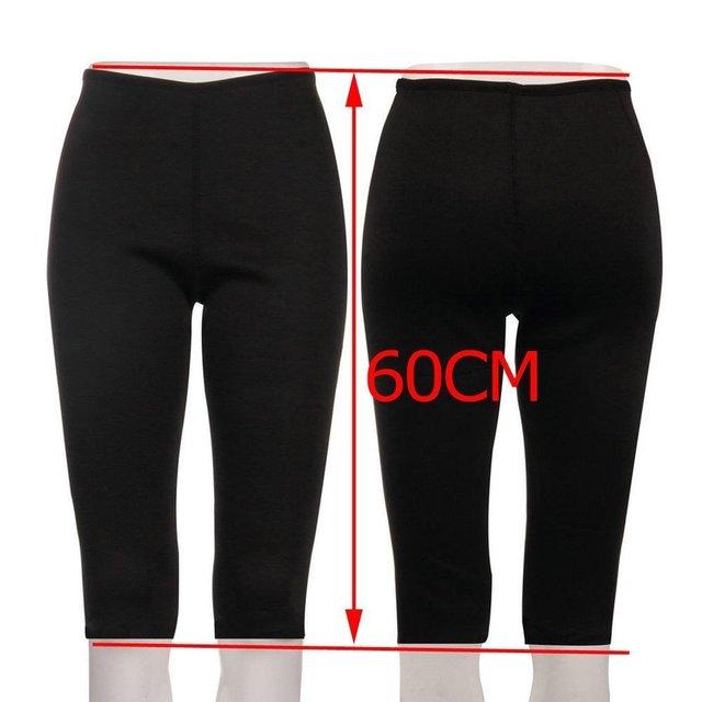 Women's Fitness Sport Shapers Yoga Pants Fit Sweat Gym Body Shaper Pants Slimming Suit for Women Waist Trainer Belt Sportswear 2