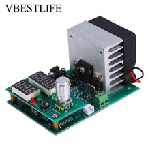 цена на 9.99A 30V Constant Current Electronic Load Module Battery Capacity Tester 60W Multi-functional
