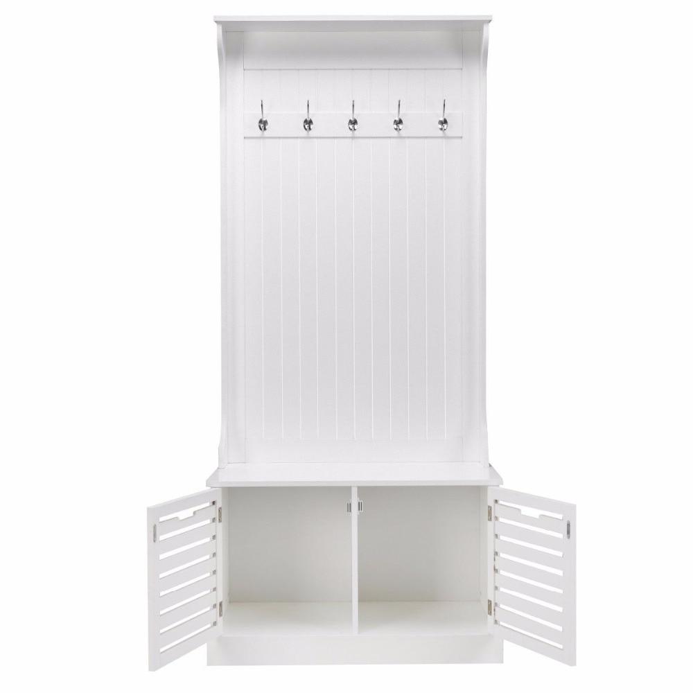 Superb Giantex Hall Tree Storage Bench Entry Stand Hat Coat Rack Spiritservingveterans Wood Chair Design Ideas Spiritservingveteransorg