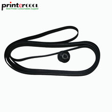 Carriage Drive belt 36inch B0 for HP DesignJet 1050 1055CM 1050C Plus 1055CM Plus Plotter C6072-60198 c6074 60394 c6072 60159 vacuum aerosol fan assembly for hp designjet 1050c 1055cm plotter parts