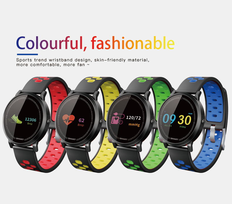 MOCRUX F4 Color Touch Screen Smartwatch Smart Sport Fitness Watch Men Women Heart rate monitor Wearable Devices for IOS Android (15)