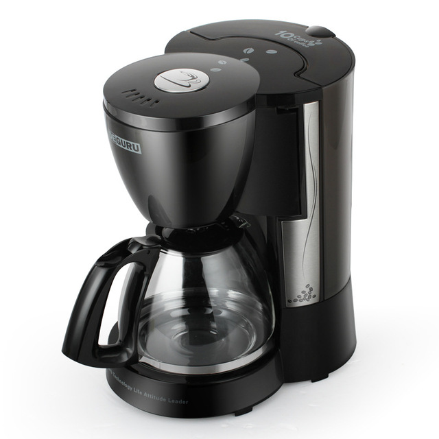 Dcm203 Home Office American Coffee Machine 10 Cups Drip Type Maker Small