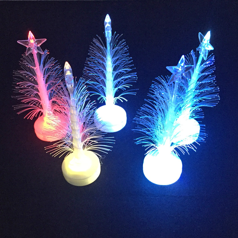 Us 48 79 10 Off 50pcs Lot Christmas Tree Light Color Changing Led Lights Xmas Tree Light Lamp Festival Creative Home Decoration Lamps Christmas In