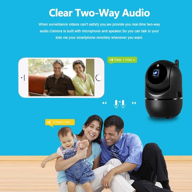 1080P Wireless IP Camera Cloud Wifi Camera Smart Auto Tracking Human Home Security Surveillance CCTV Network 4