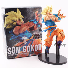 Dragon Ball Figure Super Saiyan Son Goku BWFC BANPRESTO WORLD FIGURE PVC Action Figure Collectible Model Toy 20cm KT4795(China)