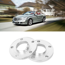 2PCS 5x112 66.6CB Aluminum Centric Wheel Spacers Tire Adapters Rims Flange Hubs For Benz Series