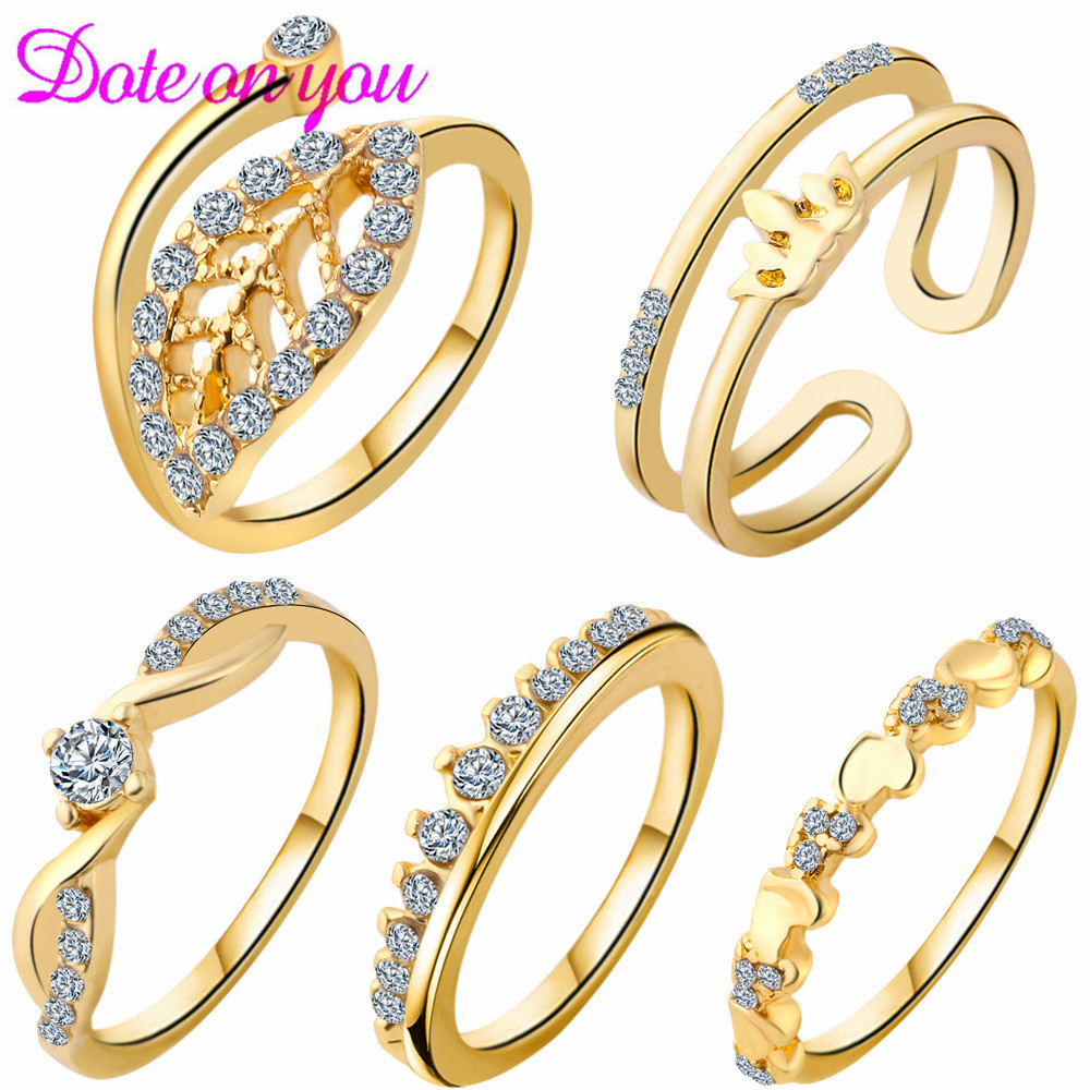 New 5pcs/Set Vintage Punk Ring Set Hollow Antique Silver Plated Lucky midi Rings Women Boho Beach Jewelry Natural Stone
