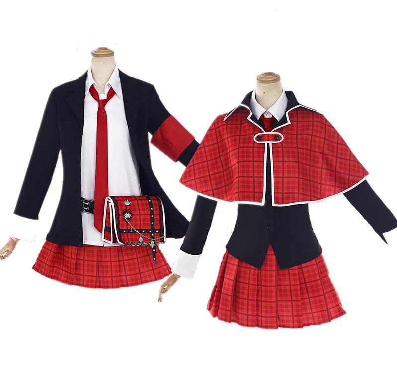 [Sep. STOCK] 2018 Anime Shugo Hinamori Amu School Uniform Cosplay Costume Full Set For Women Halloween Free Shipping New.