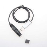 Mini USB To DMX 512 Interface Adapter For PC Computer With LED Stage Lighting Controller