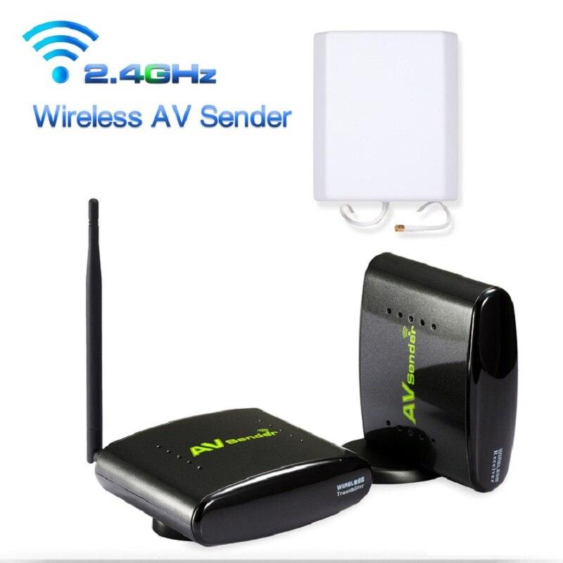 New 2.4G Smart Digital STB Wireless Sharing Device AV Transmitter  Receiver System 500M Support DVD DVR IPTV CCTV Camera developing trust in ride sharing system