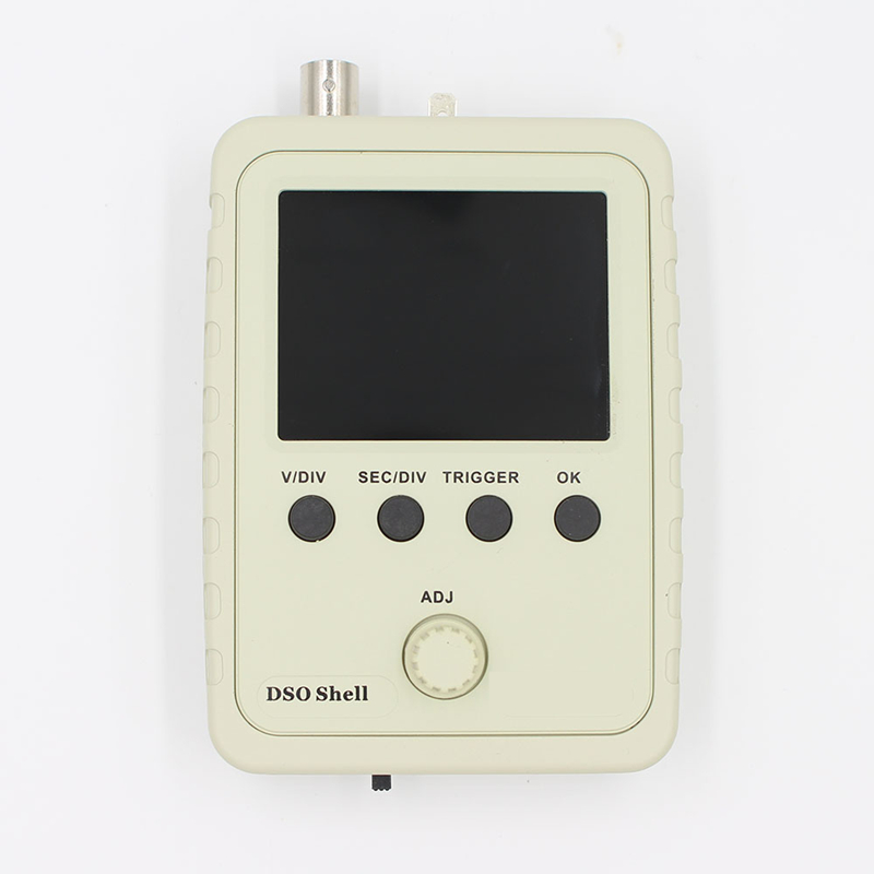Exclusive!!! Orignal Tech DS0150 15001K DSO-SHELL (DSO150) DIY Digital Oscilloscope Kit With Housing case box Free Shipping