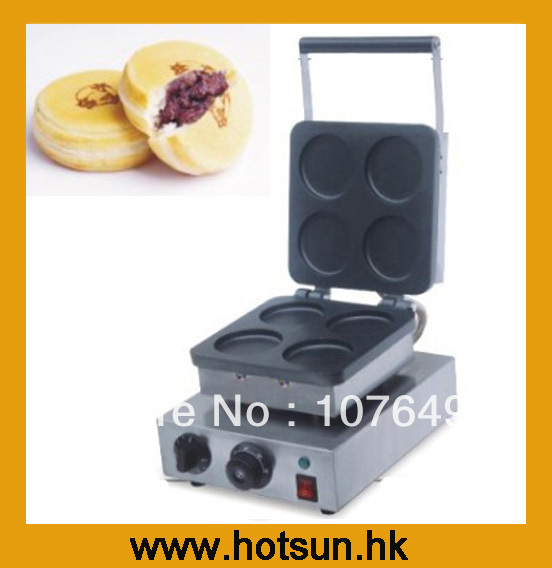 Hot Sale 110v 220V Electric Japanese Red Bean Cake Maker hot sale 16pcs gas bean cake machine