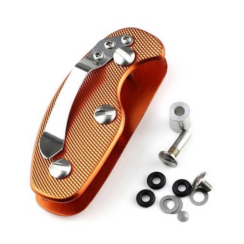EDC Lightweight Folding Keys Organizer Holder Pocket Aluminum Key Holder Key Bar