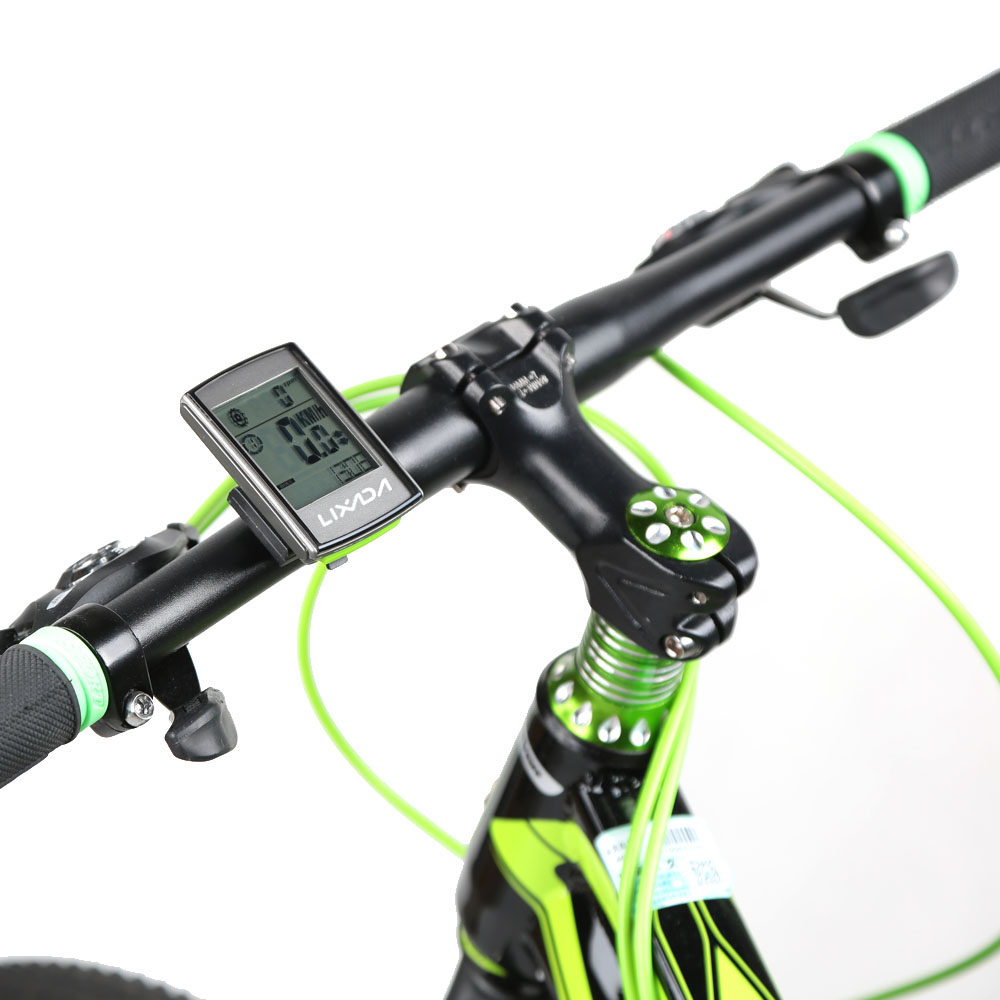 Image 3 - Lixada Multifunctional 3 in 1 Wireless LCD Bicycle Cycling Computer with Cadence Heart Rate Monitor Chest Strap for ciclismo-in Bicycle Computer from Sports & Entertainment