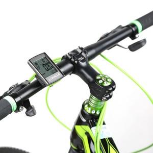 Image 3 - Lixada ordenador de ciclismo multifuncional 3 en 1, pantalla LCD inalámbrica con control del ritmo cardíaco y cadencia, correa para el pecho