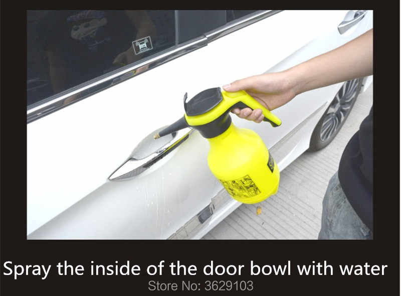 4 cái xe nắm cửa sticker màng bảo vệ phụ kiện xe ô tô-styling đối với Mitsubishi outlander lancer 10 9 pajero sport asx l200