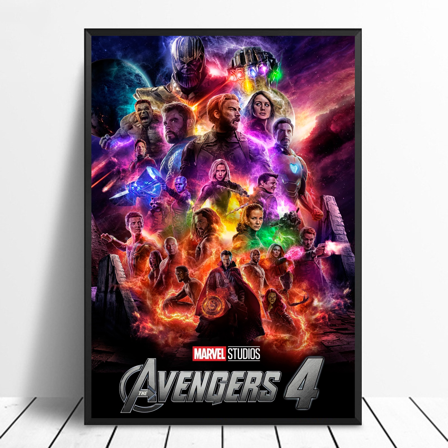 Avengers 4 Endgame Movie Poster Canvas Wall Art Picture