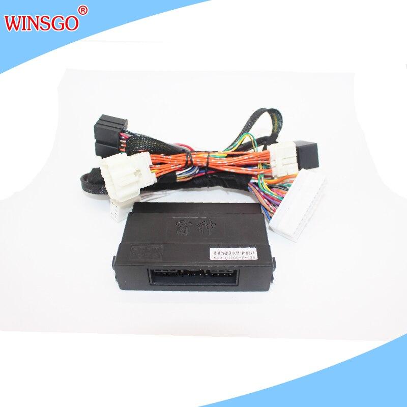 WINSGO Side Car Rétroviseur Dossier Puissance Propagation de Fenêtre rapprocher Ouvert Kit Pour Suzuki Vitara 2016 + LHD Gauche Main Drive