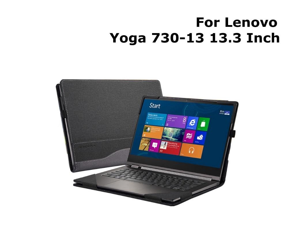 Ordinateur portable étui pour lenovo Yoga 730 730-13 13.3 Pouces Nouvelle Conception Housse de Protection En Cuir PU Peau Pour Yoga Cadeau