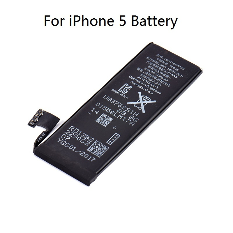 iphone 5 battery capacity high capacity phone relacement battery for iphone 5 14474