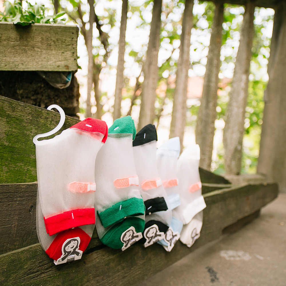LIONZONE женские прозрачные забавные носки с кристаллами новинка дизайн грейппидж Sokken шелковые Нейлоновые женские носки горячая распродажа
