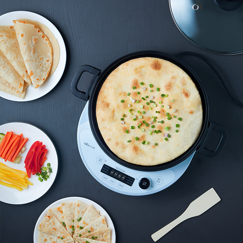 220V Electric Crepe Maker Non stick Multifunction Electric Pancake Baking Pan Household Frying Pan EU/AU/UK/US Plug - 5