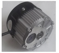 hot sale BM1418HQF 500w 48v DC brushless motor, electric bicycle motor, without differential gear