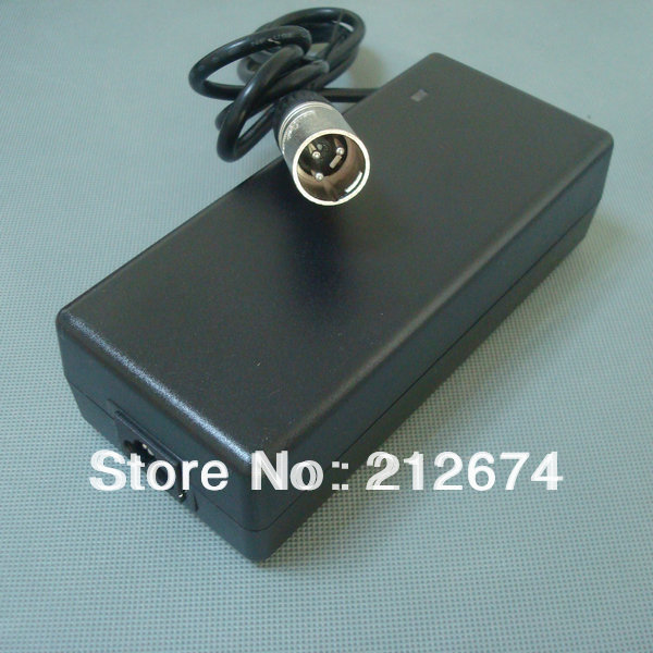 36V 2A Smart Li ion Battery Charger 3Pin XLR plug Input 100 240VAC output 42V 2A