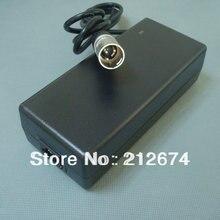 36 V 2A Inteligente li-ion Cargador de Batería de $ Number Pines XLR enchufe de Entrada 100-240VAC salida 42 V 2A cargador usado para 36 V Batería de La Bicicleta Eléctrica