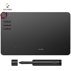 XP-Pen Deco 03 Graphics Drawing Tablet with Multi-function Dial P05 Battery-free Stylus (8192 levels pressure) 6 shortcut keys