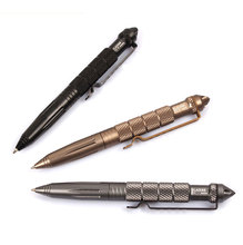 High Quality defence personal Tactical Pen  Alloy Defense Tactical Pen defensive Pen equipment цены