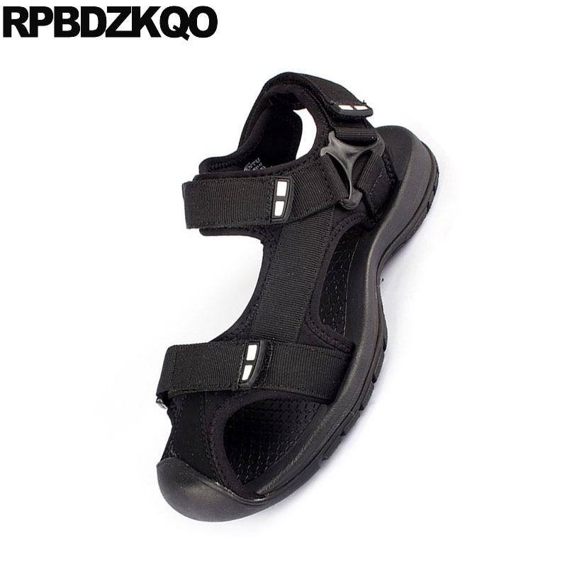 Outdoor Fashion Closed Toe Sandals Sneakers Size 45 Flat Black Beach Large Native Plus Mens Mesh Shoes Designer Sport Summer Big 4