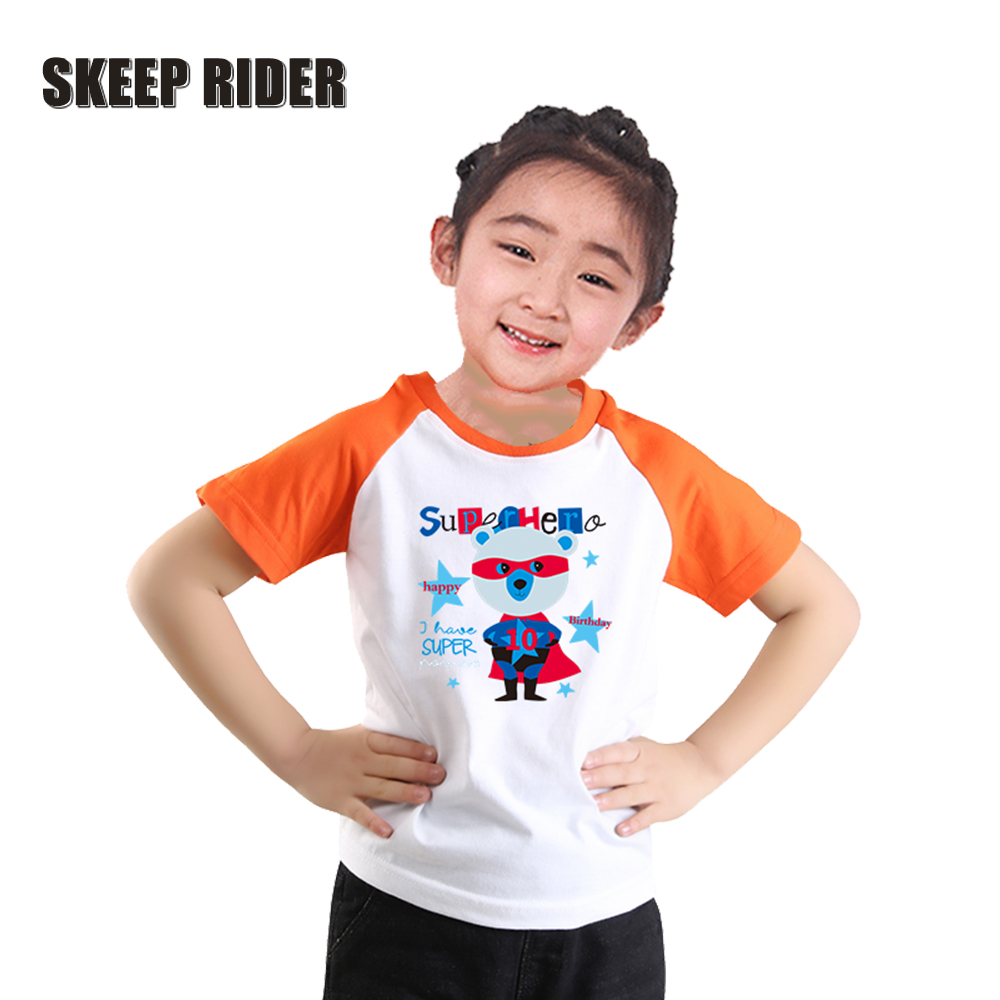 Bear Kid/'s T-Shirt Children Boys Girls Unisex Top
