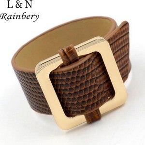 Rainbery Fashion Big Metal Cha
