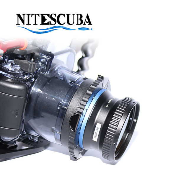 NiteScuba M67 Magnetic Mount with Lock for macro wide angle fisheye lens adapter filter holder underwater camera housing